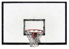 Koszykówki backboard fotografia royalty free