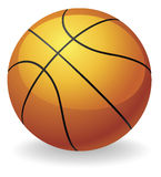 koszykówki balowa ilustracja Obraz Stock