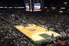 koszykówki Bradley samiec centrum Milwaukee nba Zdjęcie Royalty Free