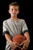 koszykówki chłopiec Obraz Stock