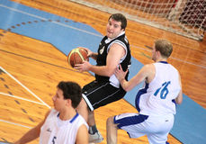 koszykówki dopasowanie Obraz Royalty Free