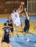 koszykówki dopasowanie Obrazy Stock