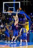 Koszykówki dopasowanie Zdjęcie Stock