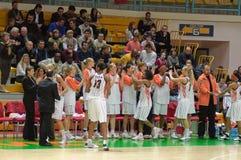 koszykówki euroleague kobiety Zdjęcia Royalty Free