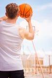 koszykówki grać Obrazy Royalty Free