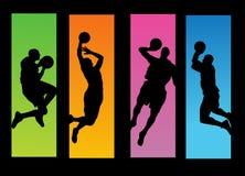 koszykówki ilustraci gracze ilustracji