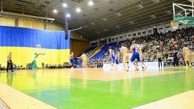 Koszykówki mistrzostwa F4 finał, Kijów, Ukraina zdjęcie wideo