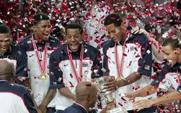 koszykówki mistrzostwa świat Zdjęcia Royalty Free