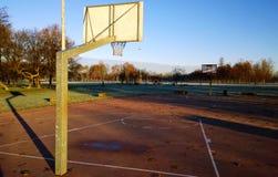 koszykówki pojęcia boiska szkoły sporty Zdjęcia Royalty Free