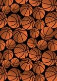 Koszykówki powtórki wzór. Zdjęcie Stock