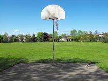 koszykówki sieć Zdjęcie Royalty Free