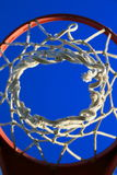 koszykówki sieć Obrazy Royalty Free