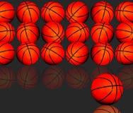 Koszykówki tło Zdjęcia Royalty Free