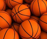 Koszykówki tło Zdjęcia Stock