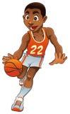 koszykowa chłopiec Obrazy Royalty Free