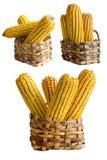 koszykowa kukurudza Obrazy Royalty Free