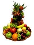 koszykowa owoców Zdjęcie Stock