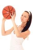 Koszykowa piłka. Obrazy Stock