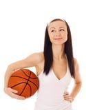 Koszykowa piłka. Zdjęcie Stock