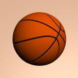 Koszykowa piłka Fotografia Royalty Free