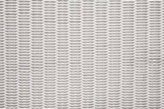 Koszykowa tekstura Wyplata wzór, Biały Łozinowych koszy tło Zdjęcia Royalty Free