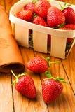 koszykowa truskawka Obraz Stock