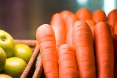 koszykowe marchewki Obraz Royalty Free