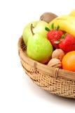 koszykowe owoców Zdjęcie Royalty Free