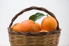 koszykowe pomarańcze Obrazy Royalty Free