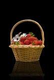 koszykowe truskawki Obraz Stock