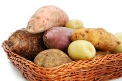 koszykowe ziemniaki Fotografia Royalty Free