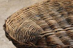 Koszykowego tkactwa płochy Obrazy Royalty Free