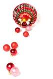 koszykowi baubles Zdjęcie Royalty Free