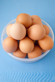 koszykowi jajka Zdjęcie Royalty Free