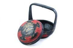 koszykowy chiński prezent ślubu Fotografia Stock