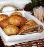 koszykowy chleb. Obraz Stock