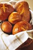 koszykowy chleb zdjęcia royalty free