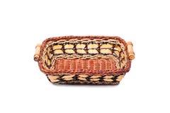 koszykowy dekoracyjny ręcznie robiony wicker Fotografia Royalty Free