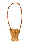 koszykowy dekoracyjny wattled biel Obrazy Stock