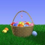 koszykowy Easter Fotografia Royalty Free