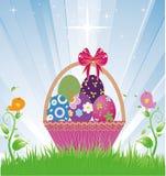 koszykowy Easter Obraz Stock