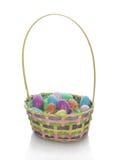 koszykowy Easter Zdjęcia Stock
