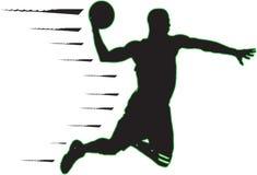Koszykowy gracz zdjęcie stock