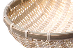 koszykowy odosobniony słomiany tradycyjny wyplatający Obrazy Royalty Free