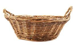 koszykowy odosobniony wicker Obraz Royalty Free