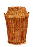 koszykowy pralniany wicker Obrazy Royalty Free