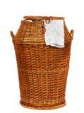 koszykowy pralniany wicker Obraz Stock