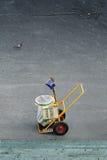 koszykowy pył Zdjęcie Royalty Free