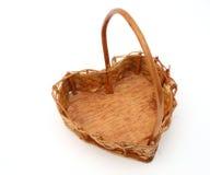 koszykowy serce Fotografia Stock