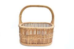 koszykowy stary wicker Fotografia Stock